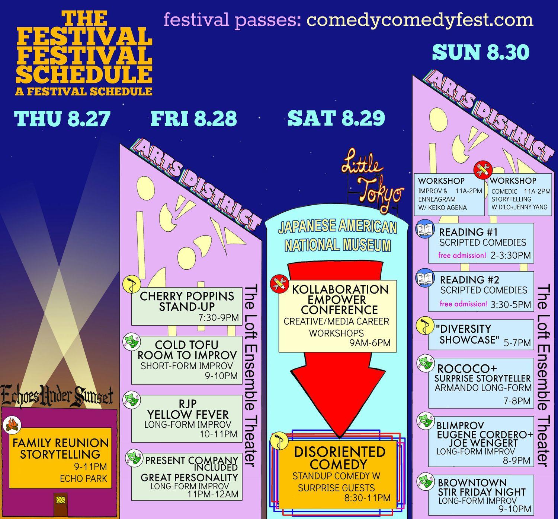 comedyfestschedule