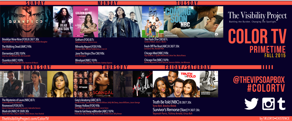 Color TV Primetime Schedule-2015-Social